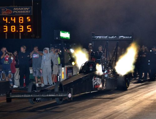 LAGANA, JETS, MCINTIRE SHINE AT FUNNY CAR NATIONALS