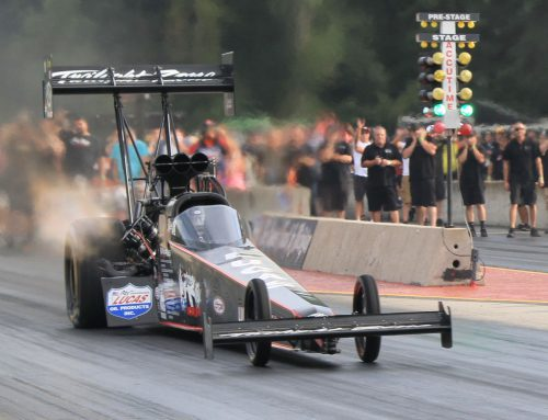 LAGANA ONCE AGAIN RUNS 330+ MPH AT US 131