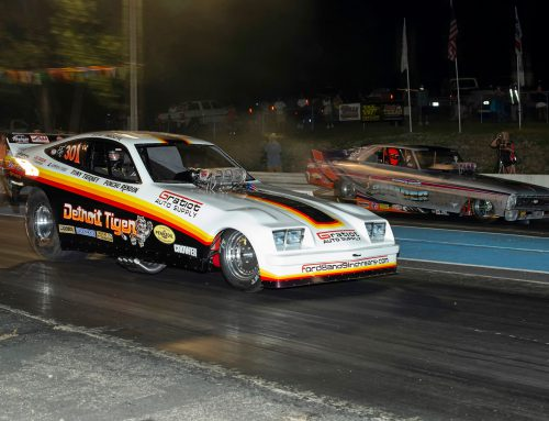 ORIGINAL MUSCLE CARS FEATURED AT FUNNY CAR NATIONALS