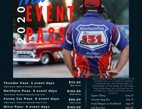 2020 EVENT PASSES NOW OFFERED JUST IN TIME FOR GIFTS