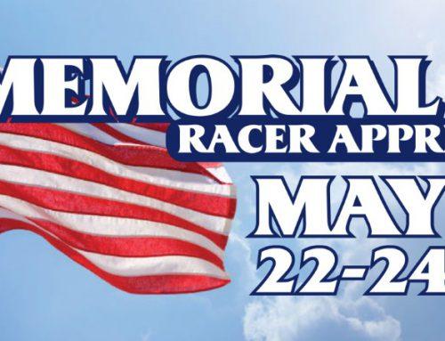 Memorial Day Racer Appreciation Race