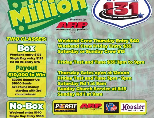 TUNE UP FOR SFG HALF MILLION IN 'MICRO MILLION' AT US 131